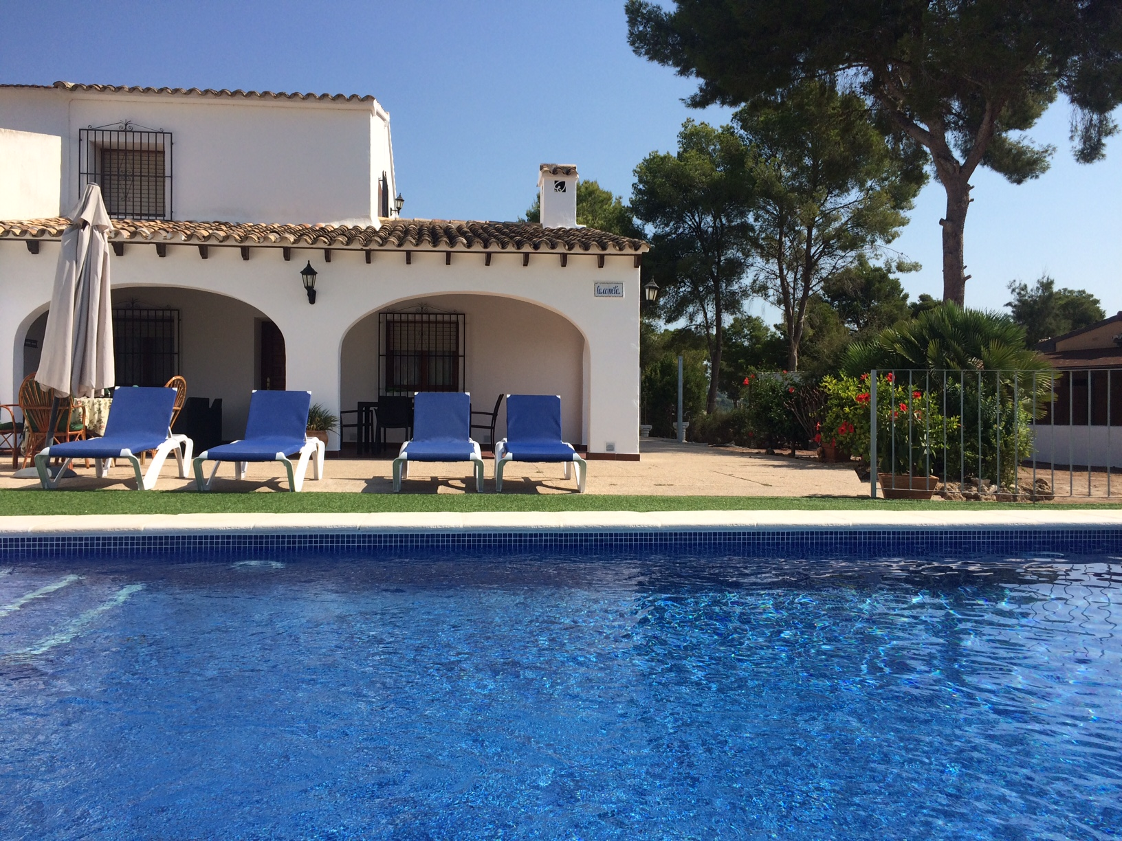 To rent Villa Moraira Alicante
